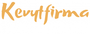 Kevytfirma logo tummalle
